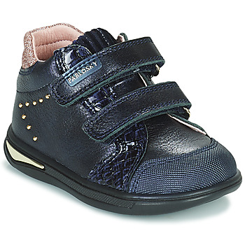 Chaussures Fille Baskets montantes Pablosky 6122 Marine