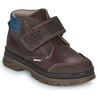 Chaussures Garçon Boots Pablosky 502993 Marron