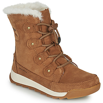 Chaussures Fille Boots Sorel YOUTH WHITNEY II JOAN LACE Marron