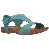 Chaussures Femme Sandales et Nu-pieds Interbios 4420 crazy jeans Mujer Jeans bleu