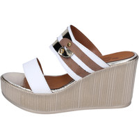 Chaussures Femme Mules Sara Collection BJ937 Blanc