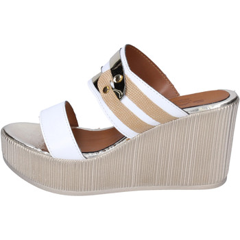 Chaussures Femme Mules Sara Collection BJ938 Blanc
