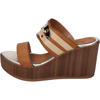 Chaussures Femme Mules Sara Collection BJ939 Marron