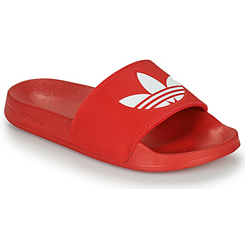 Chaussures Claquettes adidas Originals ADILETTE LITE Rouge