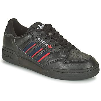 Chaussures Baskets basses adidas Originals CONTINENTAL 80 STRI Noir / Bleu /  Rouge