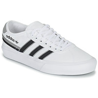 Chaussures Baskets basses adidas Originals DELPALA Blanc / Noir