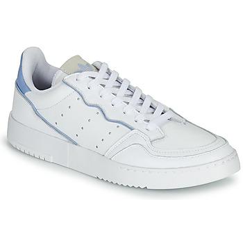Chaussures Baskets basses adidas Originals SUPERCOURT Blanc / Bleu