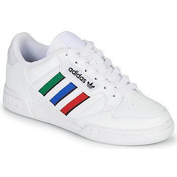 Chaussures Enfant Baskets basses adidas Originals CONTINENTAL 80 STRI J Blanc / Vert / Bleu