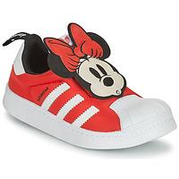 Chaussures Fille Baskets basses adidas Originals SUPERSTAR 360 C Rouge / Minnie