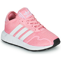 Chaussures Fille Baskets basses adidas Originals SWIFT RUN X C Rose