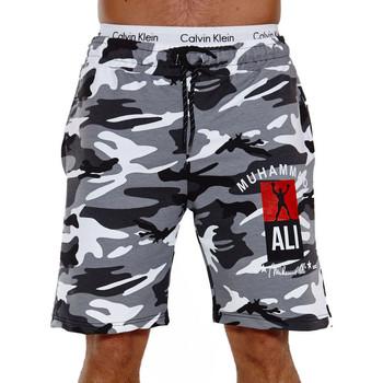 Vêtements Homme Shorts / Bermudas Monsieurmode Short sportwear pour homme Short 3726 blanc Blanc