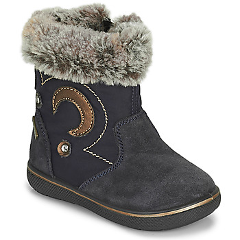 Chaussures Fille Prigt 8553 Gore-tex Primigi SNORKY GTX Marine / Marron