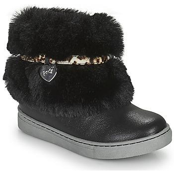 Chaussures Fille Boots Primigi B&G LUX Noir
