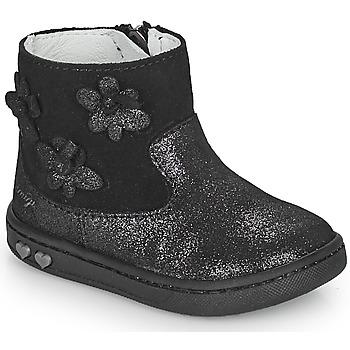 Chaussures Fille Boots Primigi BABY LIKE Noir