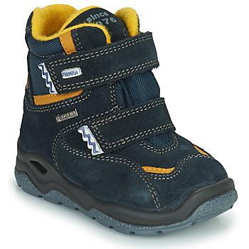 Chaussures Garçon Prigt 8553 Gore-tex Primigi GARY GTX Marine / Jaune