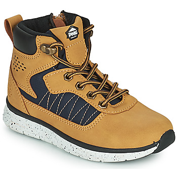 Chaussures Garçon Boots Primigi B&G TIMBY Cognac