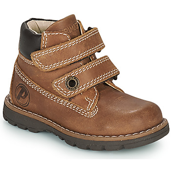 Chaussures Garçon Boots Primigi PLAY CASUAL Marron