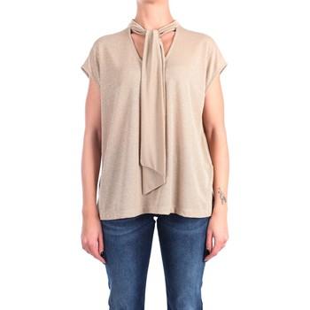 Vêtements Femme Tops / Blouses Momoni Momonì LIDO Chemisiers Femme Or Or