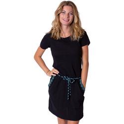 Vêtements Femme Robes courtes Coton Du Monde Sixtine Noir
