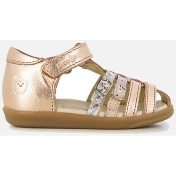 Chaussures Fille Sandales et Nu-pieds Shoo Pom PIKA SPART LAMINATO rose