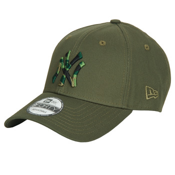 Accessoires textile Casquettes New-Era CAMO INFILL 9FORTY NEW YORK YANKEES Khaki
