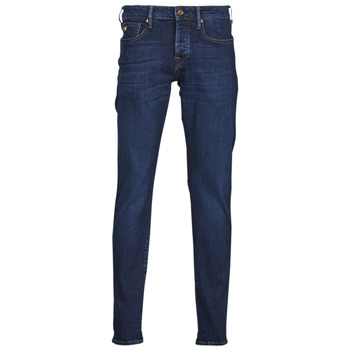 Vêtements Homme Jeans slim Scotch & Soda RALSTON REGULAR SLIM Bleu foncé