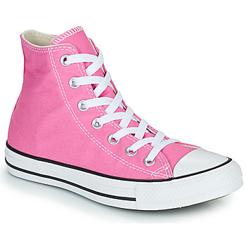 Chaussures Femme Baskets montantes Converse CHUCK TAYLOR ALL STAR SEASONAL COLOR HI Rose