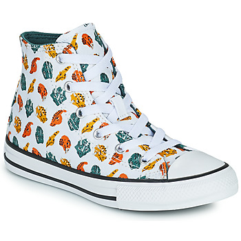 Chaussures Enfant Baskets montantes Converse CHUCK TAYLOR ALL STAR DINO DAZE HI Blanc / Vert / Orange