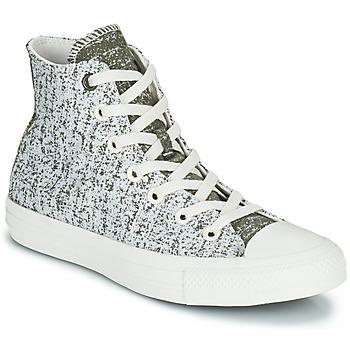Chaussures Femme Baskets montantes Converse CHUCK TAYLOR ALL STAR HYBRID TEXTURE HI Gris