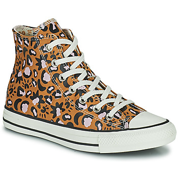 Chaussures Femme Baskets montantes Converse CHUCK TAYLOR ALL STAR MYSTIC WORLD HI Moutarde / Rose