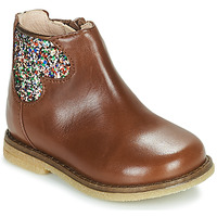Chaussures Fille Boots Acebo's 3202-CUERO-C Marron