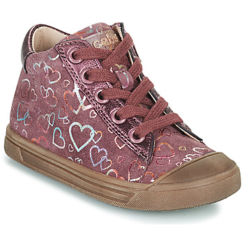 Chaussures Fille Baskets montantes Acebo's 5533EL-GRANADA Rose