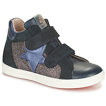 Chaussures Fille Baskets montantes Acebo's 5541SX-MARINO Marine