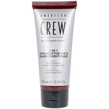 Beauté Homme Soins rasage & pré-rasage American Crew 2 In 1 Skin Moisturizer & Beard Conditioner