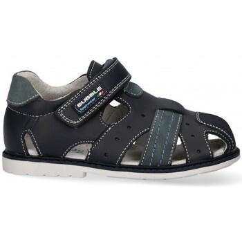 Chaussures Garçon Sandales sport Bubble 54756 bleu