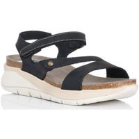 Chaussures Femme Sandales et Nu-pieds Interbios 6901 Noir