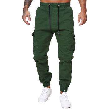 Vêtements Homme Pantalons de survêtement Monsieurmode Jogger chino cargo homme Pantalon 3292 vert Vert