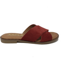 Chaussures Femme Mules Kaola CHAUSSURES  592 Rouge