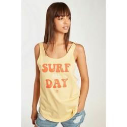 Vêtements Femme Débardeurs / T-shirts sans manche Billabong - Débardeur - jaune Jaune