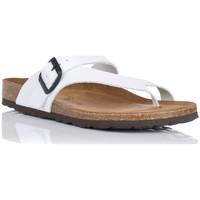 Chaussures Femme Tongs Interbios 7119 Blanc