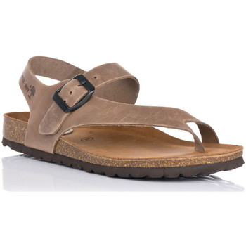 Chaussures Femme Sandales et Nu-pieds Interbios 7162 Beige