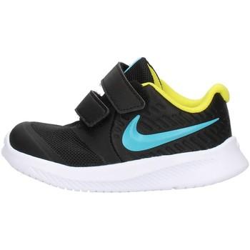 Chaussures Enfant Baskets basses Nike AT1803 Noir