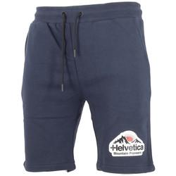 Vêtements Homme Shorts / Bermudas Helvetica Short Bleu