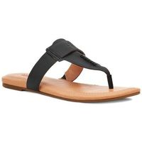 Chaussures Femme Tongs UGG Tong  GAILA Noir
