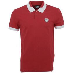 Vêtements Homme Polos manches courtes Ea7 Emporio Armani Polo EA7 Emporio$SKU Rouge