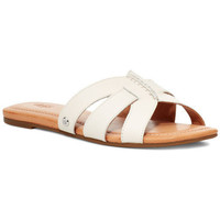 Chaussures Femme Mules UGG Sandale  TEAGUE Blanc