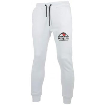 Vêtements Homme Pantalons de survêtement Helvetica Pantalon de Blanc