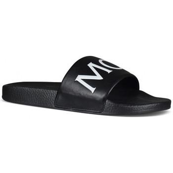 Chaussures Enfant Claquettes Moncler Claquettes Noir