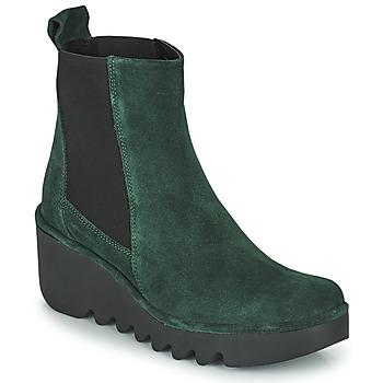 Chaussures Femme Bottines Fly London BAGU Vert