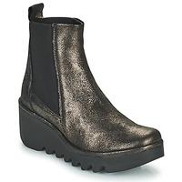 Chaussures Femme Bottines Fly London BAGU Gris / Doré